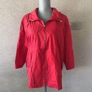 Zenergy Chicos Coral Windbreaker Jacket Full Zip